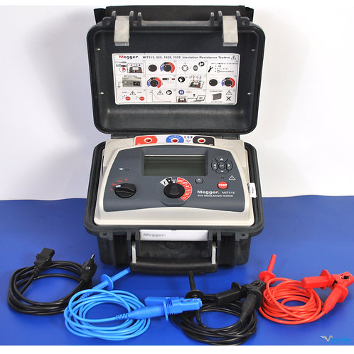 Megger MIT515 5kV Insulation Tester - NIST Calibrated with Warranty
