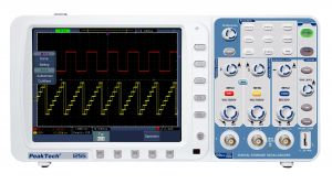 Peaktech P1255 Digital Storage Oscilloscope 100 MHz 2 CH 2 GSa/s