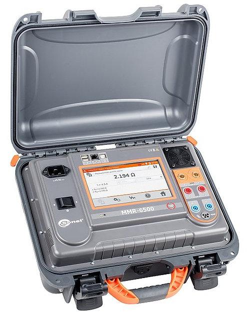 Sonel MMR-6500 Microohmmeter DLRO 100A Resistive 10A Reductive Testing