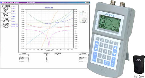 AEA Via Bravo II 100 kHz-200 MHz Vector Impedance Analyzer  Extra Fine Tuning
