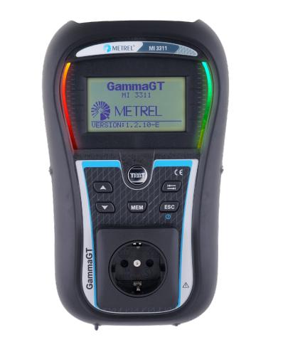 Metrel MI 3311 GammaGT PAT Tester Continuity, Insulation Resistance