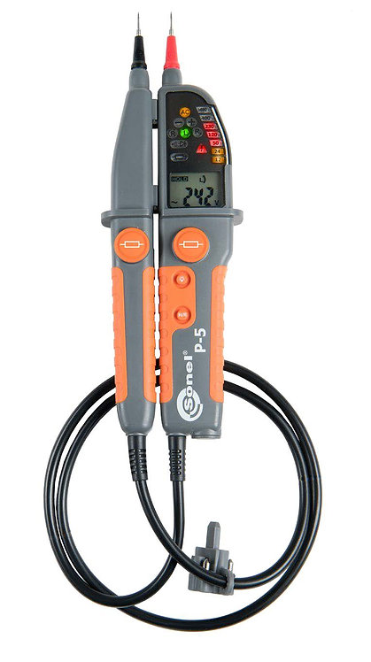 Sonel P-5 Voltage Tester CAT III 1000V Up to 1999 Ω