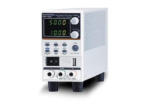 GW Instek PFR-100LGL DC Power Supply Multi-Range Fanless 100W 50V 10A GPIB LAN