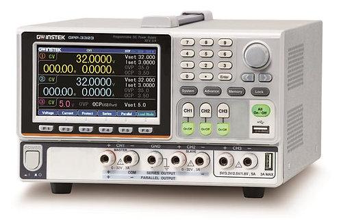 GW Instek GPP-3323 DC Power Supply 217W Programmable Three Channel