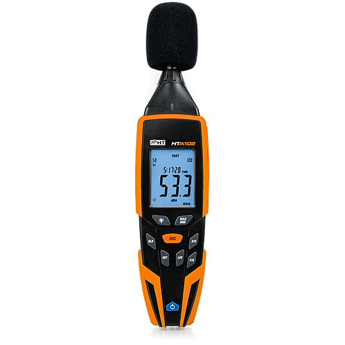 HT Instruments HTA102 Sound Level Meter Class 2 with Calibrator