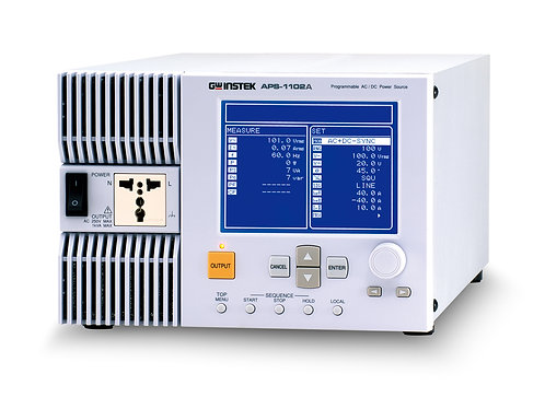 GW Instek APS-1102A AC/DC Power Source 750VA/1000A Output
