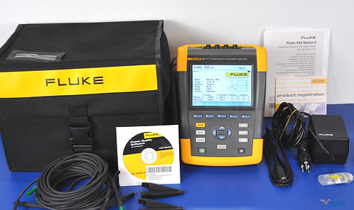 Fluke 435 Series II Power Quality and Energy Analyzer - NIST Calibrated