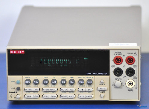 Keithley 2010 Series 7.5 Digit Multimeter DMM - NIST Calibrated with Warranty