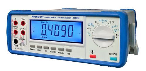 Peaktech 4090 4 1/2 Digit Benchtop Multimeter 4.5 Digit DMM