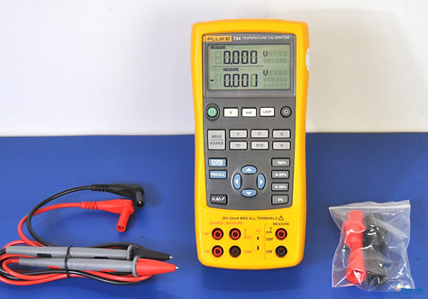 Fluke 724 Temperature Calibrator - NIST Calibrated with Warranty