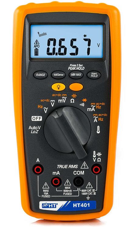 HT Instruments HT401 Professional TRMS Multimeter AC /DC Measurement