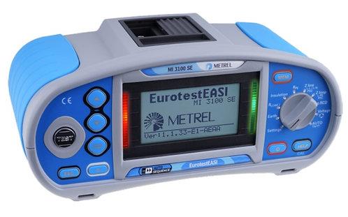 Metrel MI 3100 SE EurotestEASI Insulation, Continuity Tester, TRMS, RCD 1000V