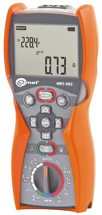 Sonel MPI-502 Multifunction Electrical Installations Meter Auto RCD