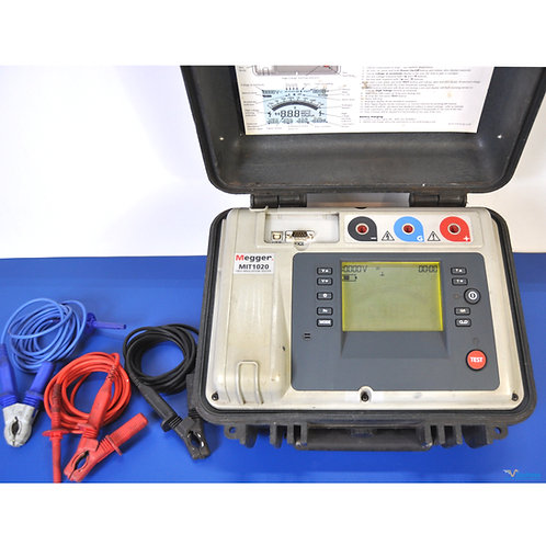 Megger MIT1020 10kV Insulation Tester - NIST Calibrated with Warranty