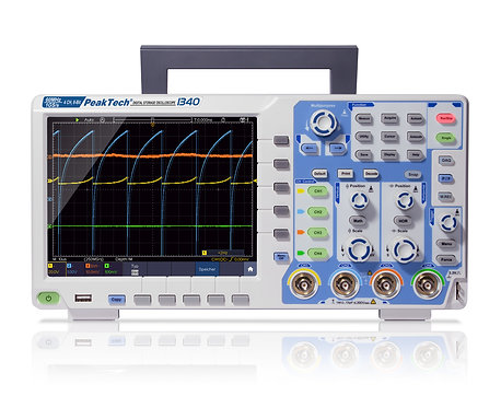 Peaktech P1340 Digital Storage Oscilloscope 60MHz 4 CH 1 GS/s DSO