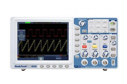 Peaktech P1305 Digital Storage Oscilloscope 70MHz 2 CH 1 GSa/s DSO