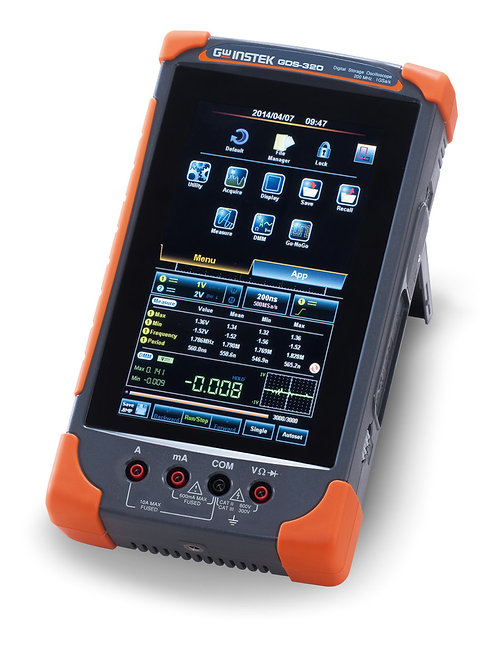 GW Instek GDS-310 Digital Storage Oscilloscope 100MHz DSO 2 Channels 1GS/s DMM