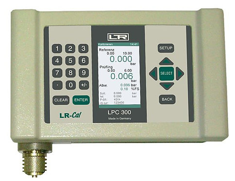 LR-Cal LPC-300 Electronic Pressure and Documenting Process Calibrator