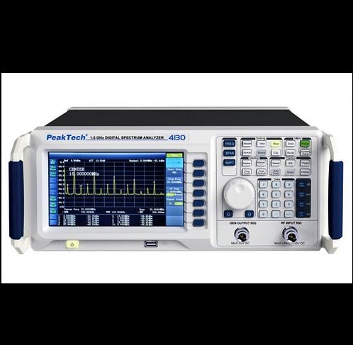 Peaktech P4130 and P4130-1 Digital Spectrum Analyzer 9 kHz - 1.5 GHz