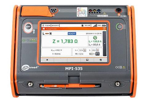 Sonel MPI-535 Multifunction Electrical Installations Meter 1kV 3 GΩ