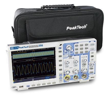 Peaktech P1356 Digital Storage Oscilloscope 60MHz 2 CH 1 GS/s DMM 25MHz AFG