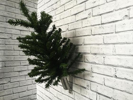 ALUMINIUM CHRISTMAS TREE/FLAG POLE BRACKET