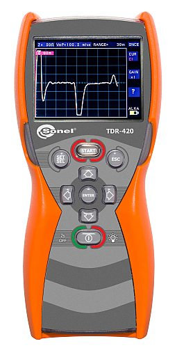 Sonel TDR-420 Time-Domain Reflectometer  6000m 1% Accuracy TDR