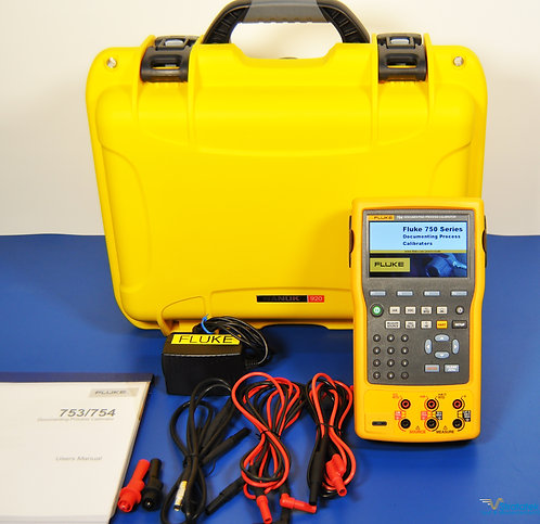 Fluke 754 Process Calibrator HART - NIST Calibrated with Warranty