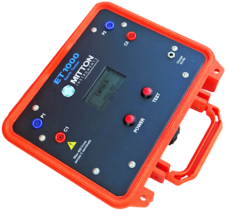 Mitton Instruments - ET1000 Ground/EARTH TESTER / RESISTIVITY MICRO-OHMMETER
