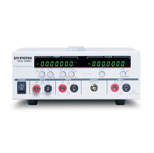 GW Instek PCS-1000i High Precision AC/DC Shunt Meter Calibrator 6.5 Digit Res