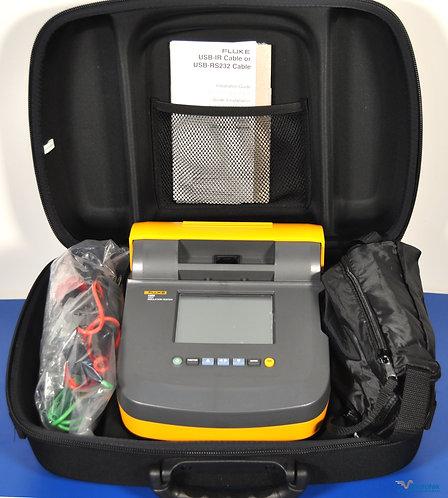 New Fluke 1555 10kV Insulation Tester Megohmmeter NIST Calibrated
