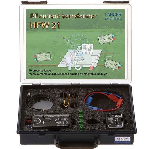 Langer EMV HFW 21 Set RF Current Transformer 100 kHz - 1 GHz