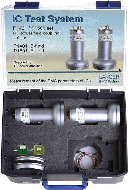 Langer EMV P1401 / P1501 Probe Set RF Field Coupling up to 1 GHz