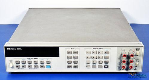 HP (Keysight/Agilent) 3458A 8.5 Digit Multimeter 8 1/2 Digit DMM NIST Calibrated