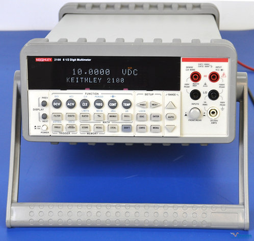 Keithley 2100 Series 6.5 Digit USB Multimeter DMM NIST Calibrated with Warranty