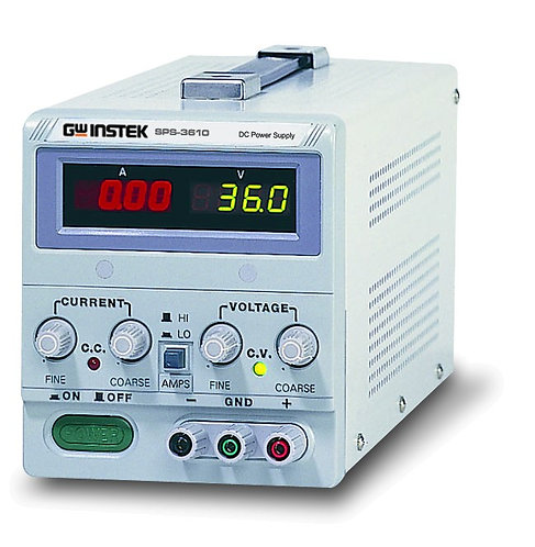 GW Instek SPS Series Switching DC Power Supply up to 60V 30A