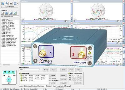 MegiQ VNA-0460 Two Port Vector Network Analyzer 6GHz