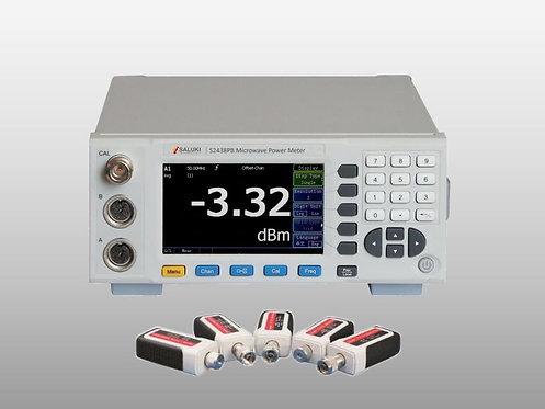 Saluki S2438 Series Microwave Power Meter 9kHz - 500GHz