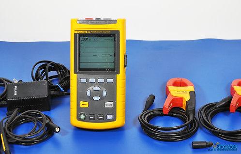 Fluke 43B Single Phase Power Quality Analyzer NIST Calibrated 1-Phase PQA