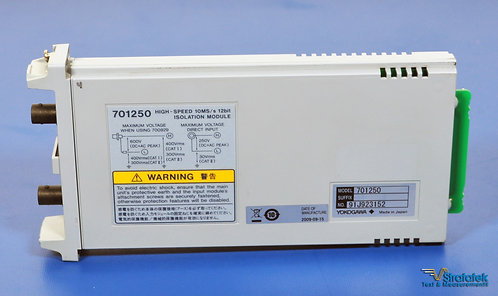 Yokogawa 701250 Voltage Input Module 10 Ms/s 12-Bit Isolation DL850 DL850V DL750