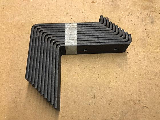 Steel shelf brackets 150mm