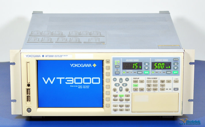 Yokogawa WT3000 Power Analyzer Motor Version 760303-03-MV-D-/C2/C5/C7/CC