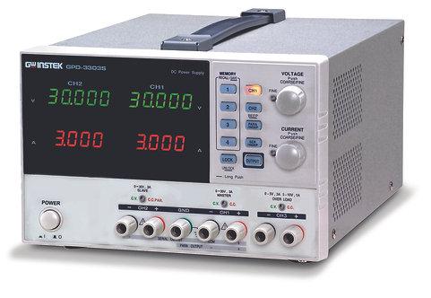 GW Instek GPD-3303S DC Power Supply Linear Programmable 3 Channel 195W