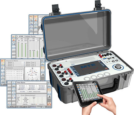 MTE - PTS 2.3 genX Three Phase Portable Test System/Current Source-Reference