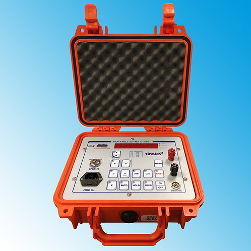Tinsley 5867 Portable 'Q' Winding Quality Meter
