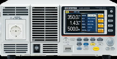 GW Instek ASR-2050 Programmable AC/DC Power Source 500VA Power Supply USB LAN