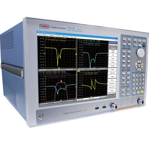 Tianda TD3619D Vector Network Analyzer 100kHz - 8.5GHz (2-Port/4-Port)
