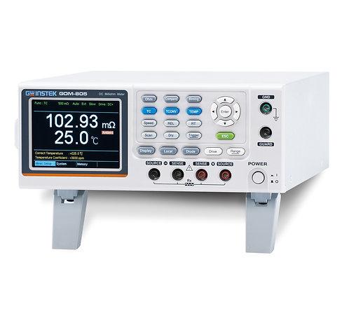 GW Instek GOM-805 DC Milli-Ohm Meter with Handler, RS-232, USB, GPIB