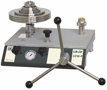 LR-Cal LDW-P Pneumatic Deadweight Tester Pressure Balance 1500 PSI