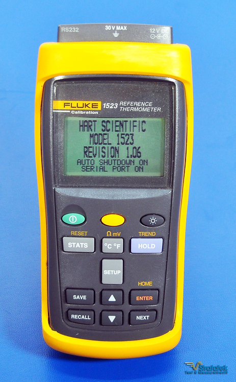Fluke Hart Scientific 1523-156 Reference Thermometer - No Probe
